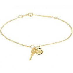 Armband Hart & Sleutel