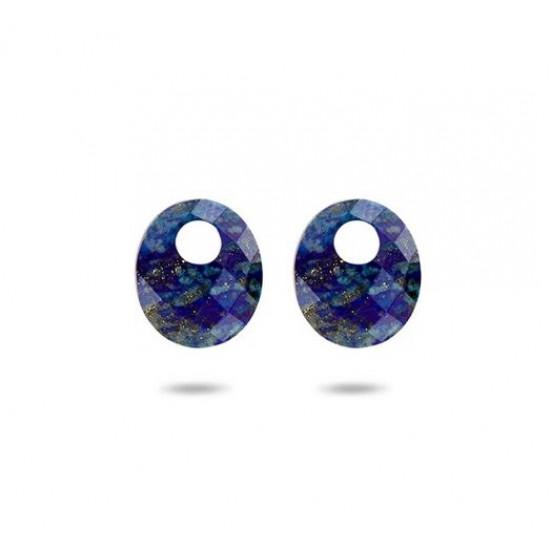 Blush Oorbedel Lapis Lazuli