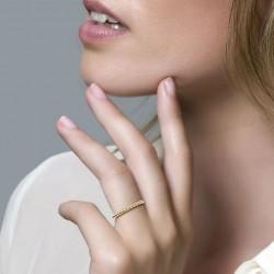 Blush Ring Bolletjes Geelgoud