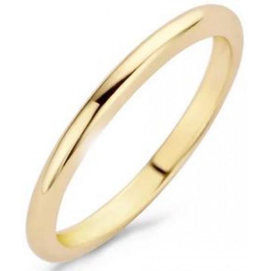 Blush Aanschuif Ring Geelgoud