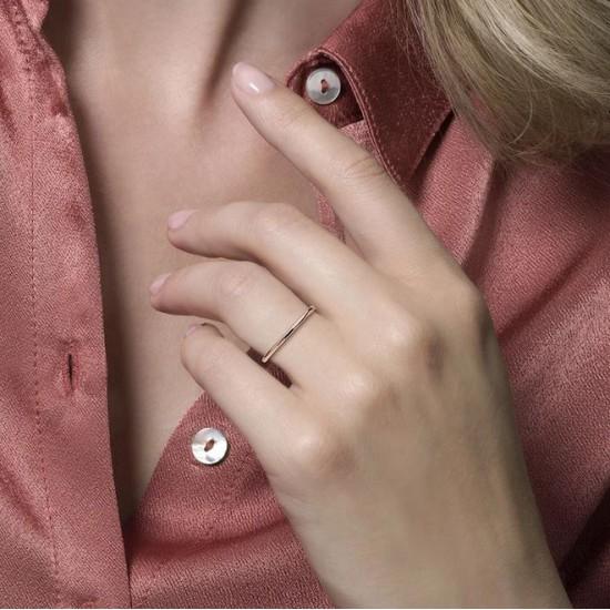Blush Aanschuif Ring Roségoud