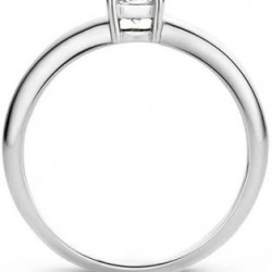 Blush Ring Zirconia Witgoud