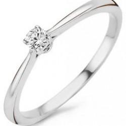 Blush Ring Zirconia Witgoud