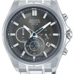 Pulsar Horloge Chronograaf Grijs