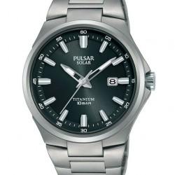 Pulsar Horloge Solar Titanium