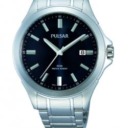 Pulsar Horloge Quartz Blauw