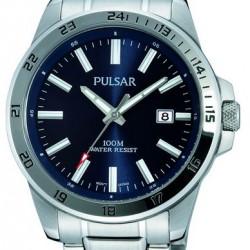 Pulsar Horloge Datum Blauw