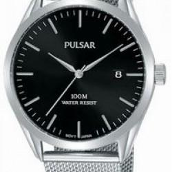 Pulsar Horloge Datum Zwart