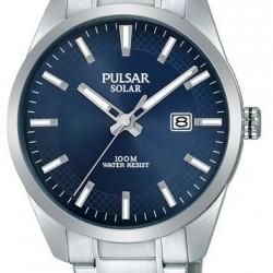 Pulsar Horloge Solar Blauw