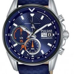 Pulsar Horloge Solar Chronograaf Blauw