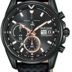 Pulsar Horloge Solar Chronograaf Zwart
