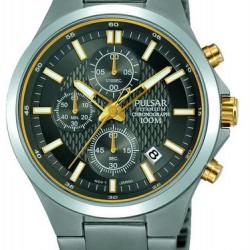 Pulsar Horloge Chronograaf Titanium Bicolor