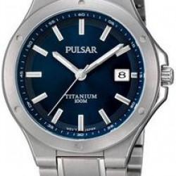 Pulsar Horloge Titanium Blauw
