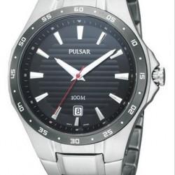 Pulsar Horloge Zwart