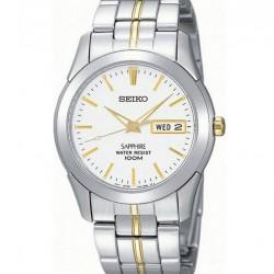 Seiko Horloge Analoog Quartz Bicolor