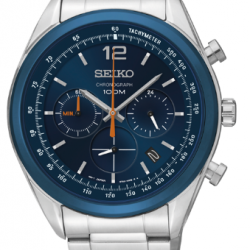 Seiko Horloge analoog quartz chronograaf